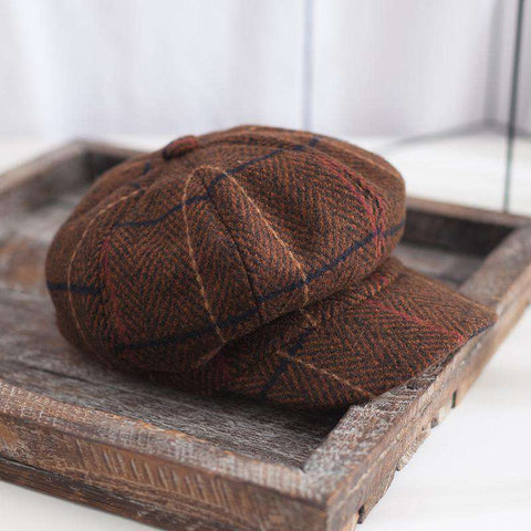 Winter Vintage Checked Hats gallery 1