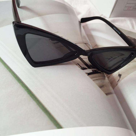 Vintage Butterfly TriangleShape Simple Sunglasses gallery 13