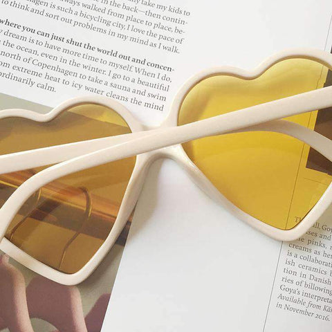 Candy Color Ombre Heart Shape Lens Sunglasses gallery 14