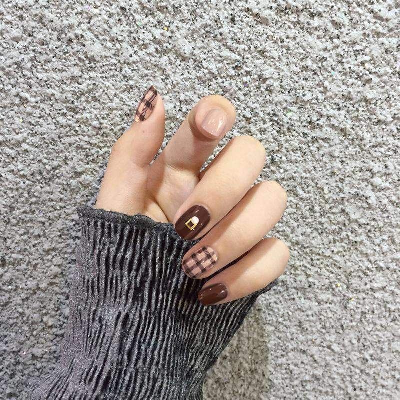 Soy Latte Magic Press Nail Manicure