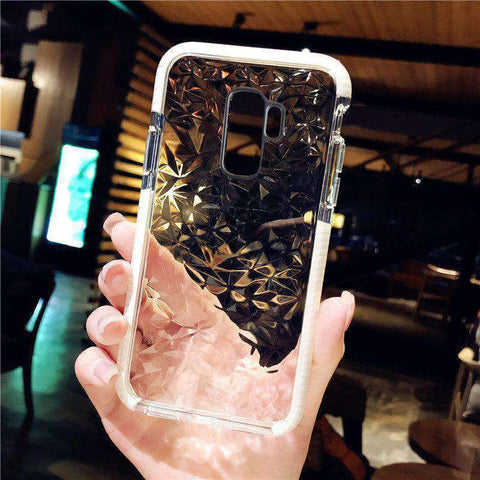 Transparent Diamond Phone Case for Samsung gallery 5