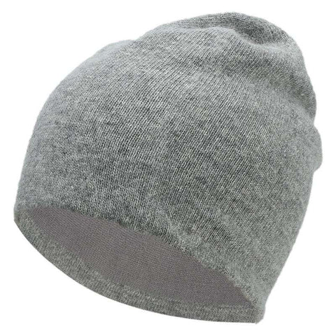 Women's Solid-color Stretch Beanie Hat gallery 1