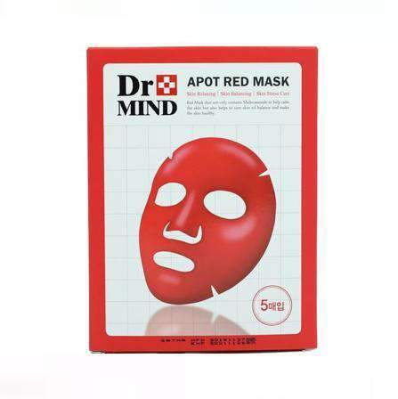 Dr.Mind - Apot Red Mask Pack