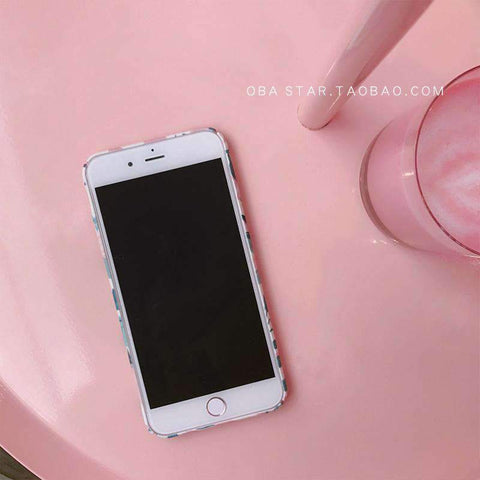 Pink Summer Vibe Leaf iPhone Case gallery 4