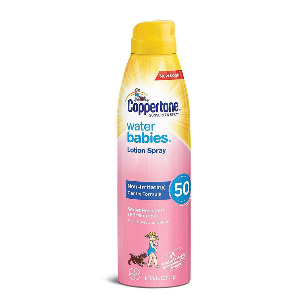 Coppertone - WaterBabies Sunscreen Quick Cover Lotion Spray SPF 50