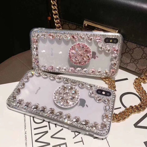 Ring Rhinestone Phone Case for Samsung with Phone Holder gallery 6