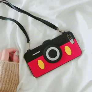 Mickey Mouse Cam Design iPhone Case