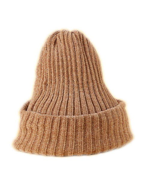 Winter Thick Soft Chenille Knitted Woolen Hat gallery 11
