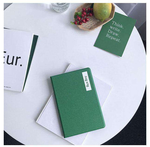 Solid Color with Letter Printed Apple iPad Cover Case gallery 1