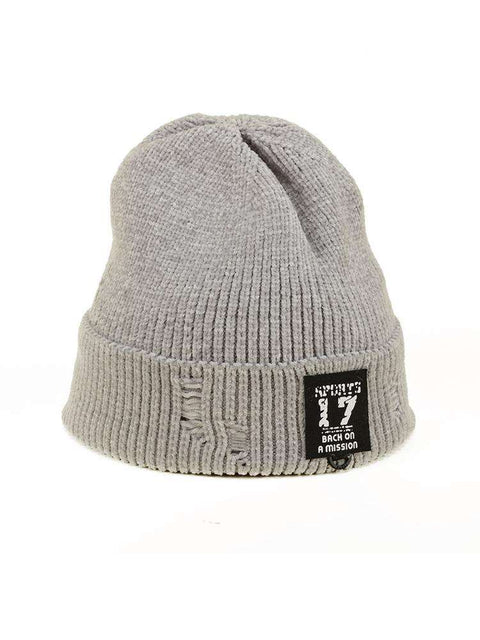 Harajuku Style Winter Thick knitted Woolen Hat for Men and Women gallery 9