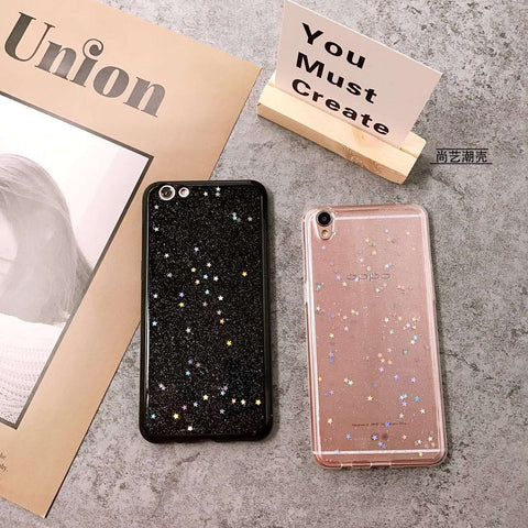 Silicone Starry Sky Phone Case for Samsung gallery 1