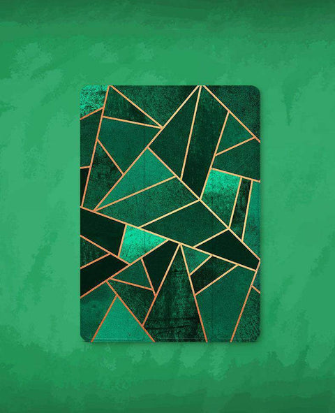 Contracted Patchwork Rhombus Apple iPad Cover Case gallery 1
