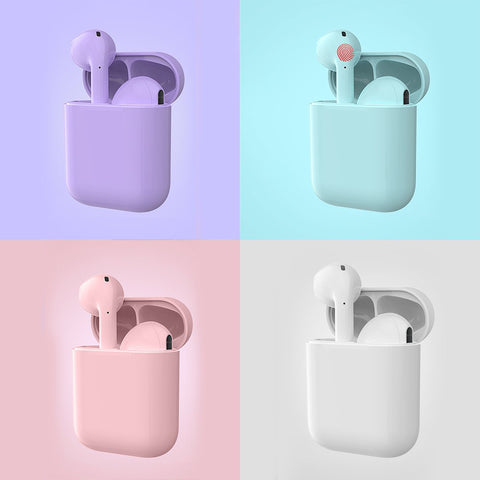 Newest i17 TWS 5.0 Earphone HIFI Super Bass Sound Wireless Earbuds Touch Earphones For phone