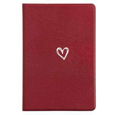 Contracted Literary Heart Pattern Apple iPad Cover Case gallery 2