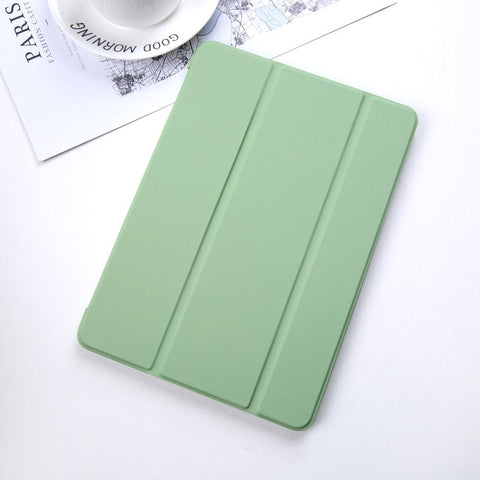 Pure Color Foldable iPad Cover Case gallery 4