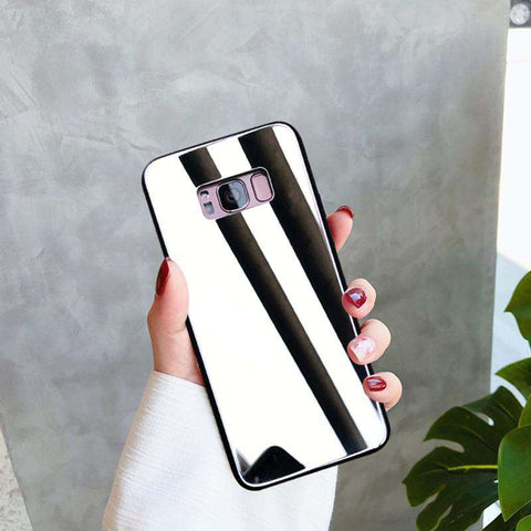 Mirror Tempered Glass Phone Case for Samsung gallery 3