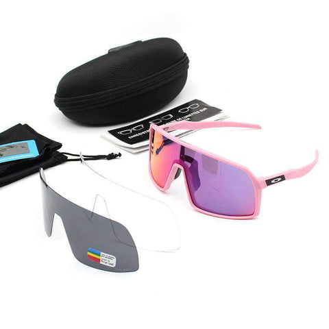 3 Pieces Set Polarized Lens Goggles For Cycling gallery 12
