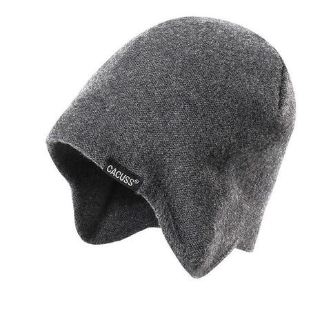 3 Colors Solid Wool Knit Earflap Beanie gallery 2