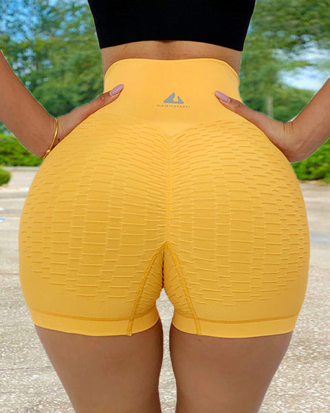 Wide Waistband Textured Sports Shorts gallery 13