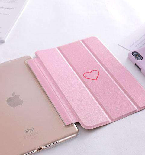 Contracted Heart painted Apple iPad Cover Case gallery 3