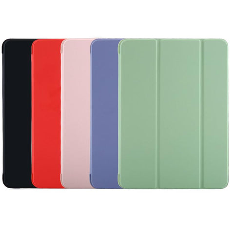Pure Color Foldable iPad Cover Case gallery 2