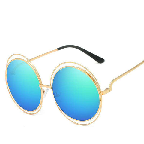 Ombre Double Frame Hollowed Sunglasses gallery 9