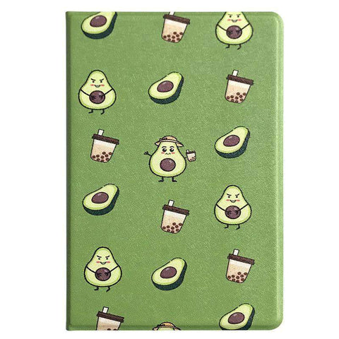 Cute Avocado Painted Apple iPad Cover Case gallery 4
