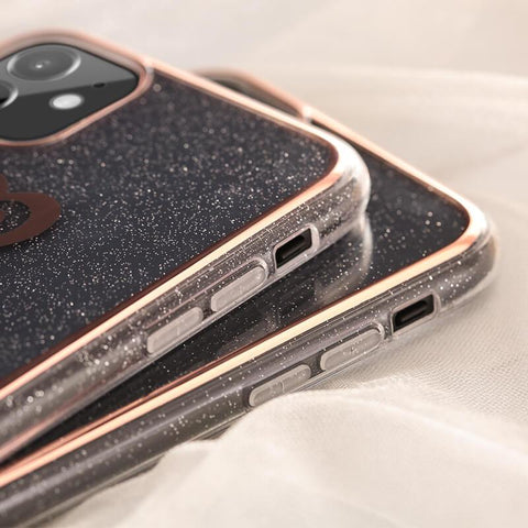 Cute Electroplate Heart/Diamond Pattern Phone Case for Samsung gallery 7