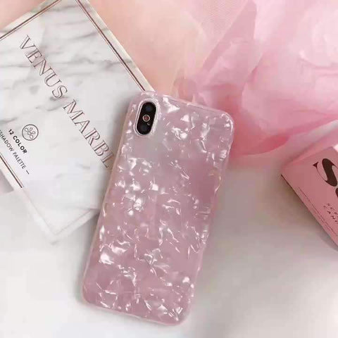 Glitter Shell Effect iPhone Case