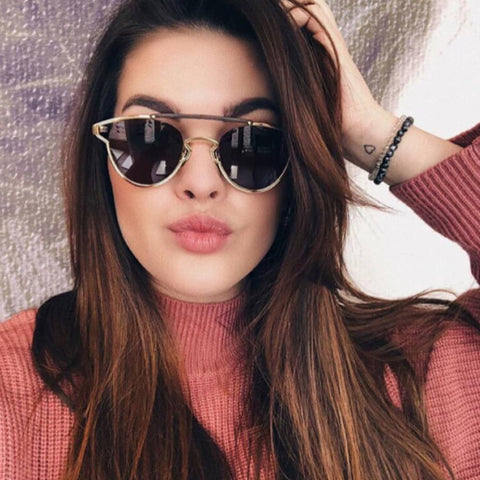 Kitty Shape One-Pieces Frame Sunglasses gallery 1