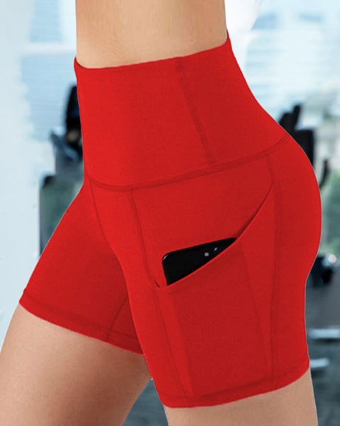 Butt Lifting Pocket Side Sports Shorts gallery 3