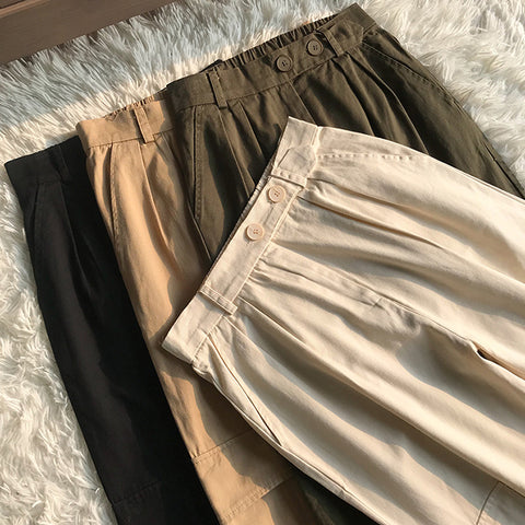 High Waist Straight Leg Cargo Trousers gallery 18