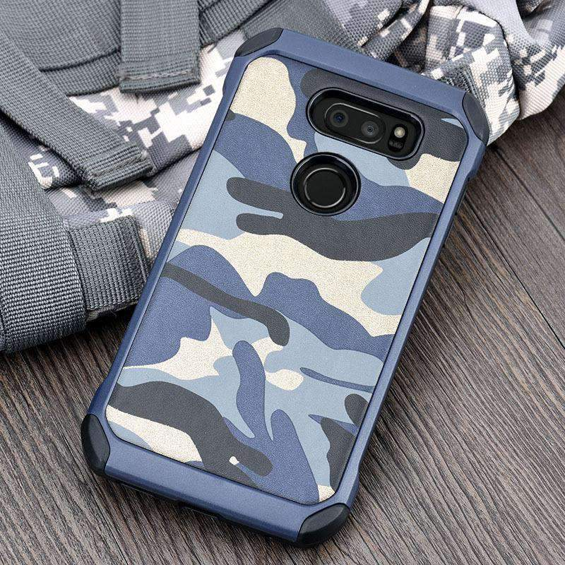 Creative Camouflage Phone Case for LG Stylo 4