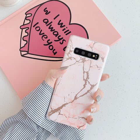Matte Sand Marble Phone Case for Samsung gallery 4