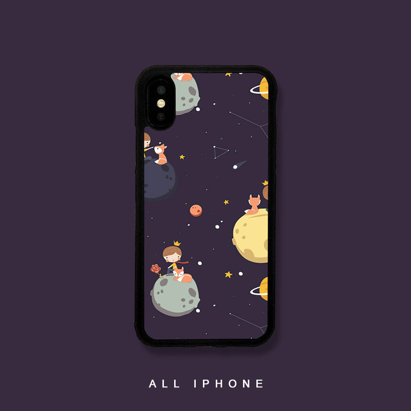 Cute Little Prince Pattern iPhone Case