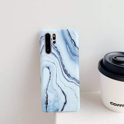 Frosted Motif Marble Phone Case for Samsung gallery 9