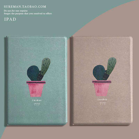 Literary Cactus Painted Apple iPad Cover Case gallery 4