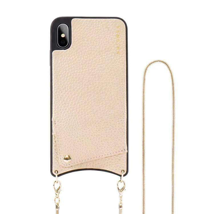 Cross-body Cell Phone Case and Card Holder for iPhone