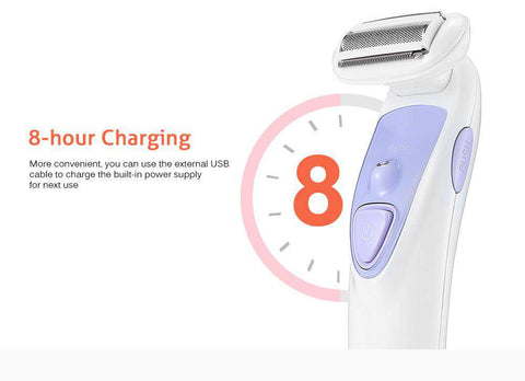 Lady Body Electric Shaver Hair Removal Rechargeable Epilator gallery 11