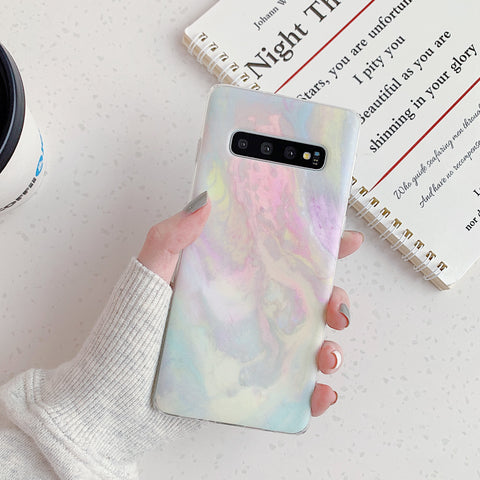 Marble Tie Dye Print Phone Case for Samsung gallery 4