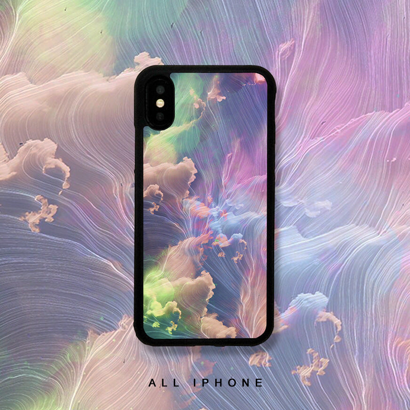 Clouds of Good Omen Ombre iPhone Case