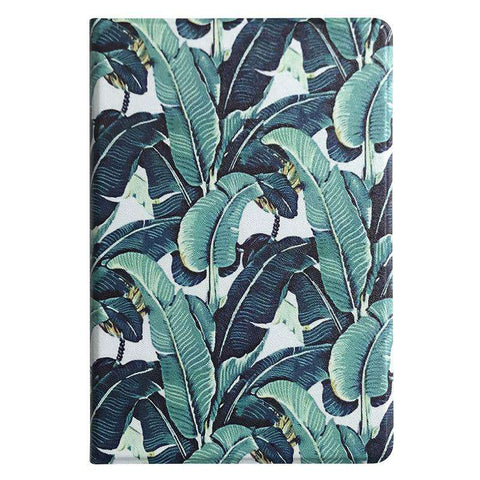 Literary Leaves Painted Summer Style Apple iPad Cover Case gallery 4