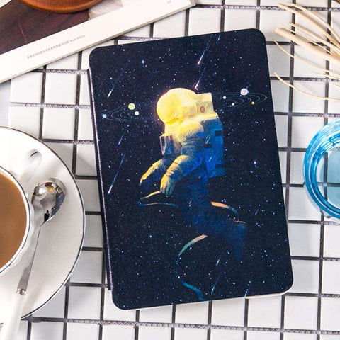 Space Astronaut Star Painted Apple iPad Cover Case gallery 2
