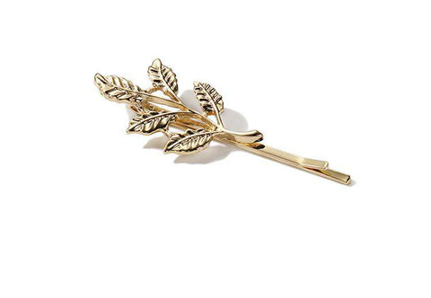 Gold Simple Flower Hair Pin gallery 12