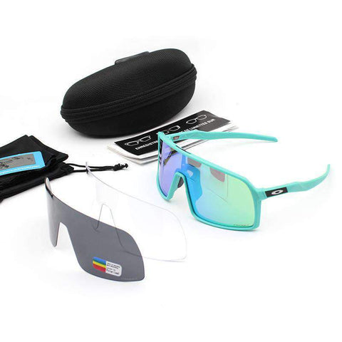 3 Pieces Set Polarized Lens Goggles For Cycling gallery 13
