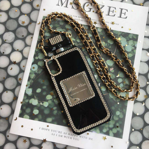 Luxury Perfume Design iPhone Case with Hand Strap gallery 2
