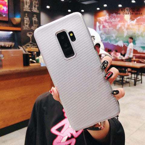 Textured Plain Phone Case for Samsung gallery 8