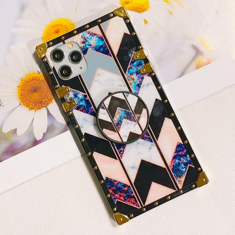 Floral Print Phone Case for Samsung with Phone Holder gallery 3