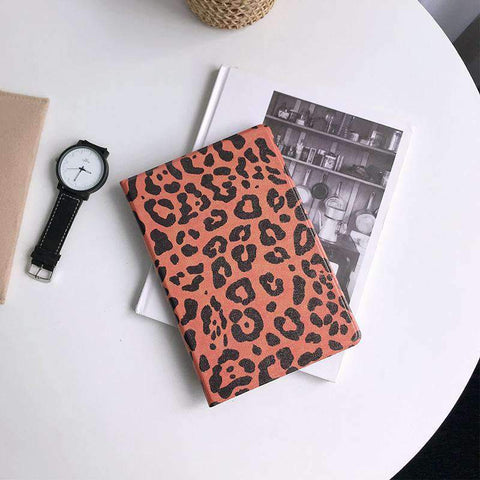 Chic Leopard Printed Apple iPad Cover Case gallery 1