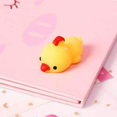 15Pcs Cute Soft Stress Relief Animals Squishy Toys gallery 5